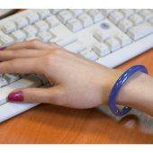 Ручка шариковая-браслет «Арт-Хаус» синяя