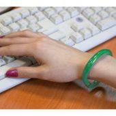 Ручка шариковая-браслет «Арт-Хаус» зеленая, арт. 000099003