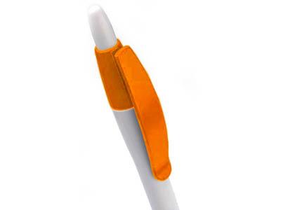 Ручка шариковая Celebrity «Пиаф» белая/оранжевая, арт. 005514703
