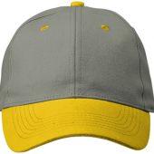 """Бейсболка """"Grip"""", желтый, арт. 001490703"""