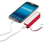 """Зарядное устройство """"Jive"""", красный/белый, арт. 001669603"""