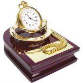 Часы «Магистр» на деревянной подставке с цепочкой для ношения в кармане, арт. 000043103
