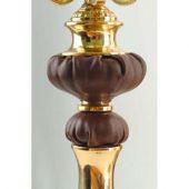 Композиция: интерьерные часы с подсвечниками «Герцог Альба», арт. 000683903