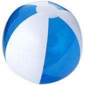 Мяч надувной пляжный, прозрачный синий