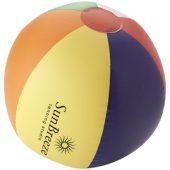 Мяч надувной пляжный, многоцветный