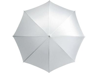 Зонт трость «Scenic», полуавтомат 23″, белый