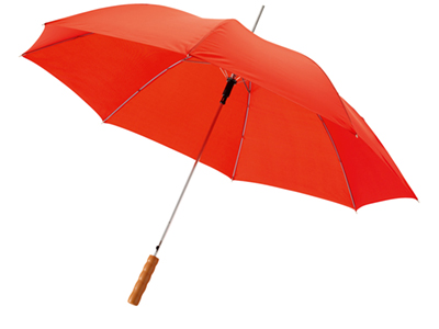 """Зонт трость """"Scenic"""", полуавтомат 23″, красный"""