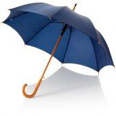 Зонт трость классический, полуавтомат 23″, темно-синий, арт. 000731003