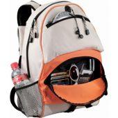 Рюкзак»Utah», оранжевый/белый