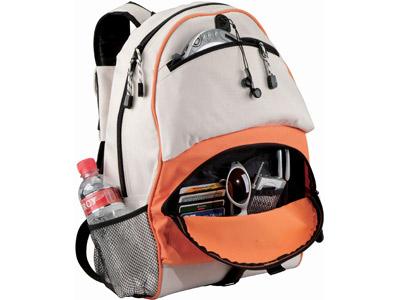 "Рюкзак""Utah"", оранжевый/белый, арт. 000842303"