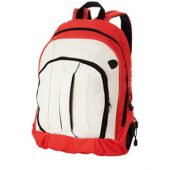 Рюкзак «Arizona» c ручкой и выходом для наушников, красный/белый