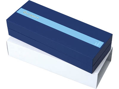 Ручка роллер Waterman модель Hemisphere Stainless Steel GT в футляре, арт. 000370103