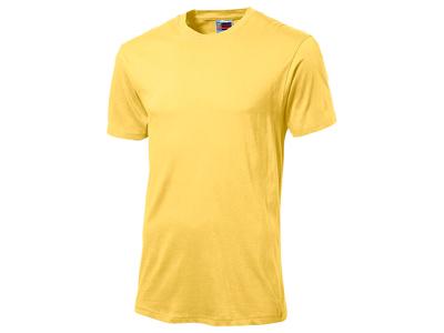 Футболка «Super club» мужская, желтый ( M )