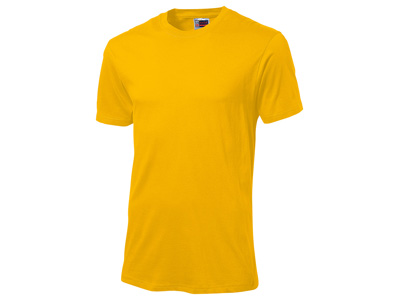 Футболка «Super club» мужская, золотисто-желтый ( S )