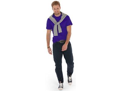Футболка «Super club» мужская, фиолетовый ( L )