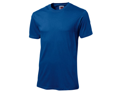 Футболка «Super club» мужская, классический синий ( XL )