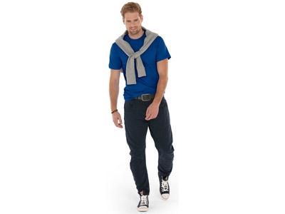 Футболка «Super club» мужская, классический синий ( 2XL )