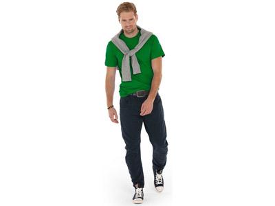 Футболка «Super club» мужская, зеленый ( 2XL )