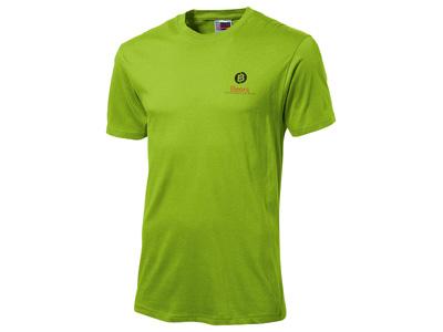 Футболка «Super club» мужская, зеленое яблоко ( 2XL )