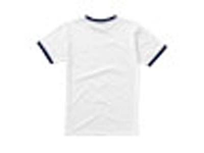 Футболка «Adelaide» мужская, белый/темно-синий ( M )