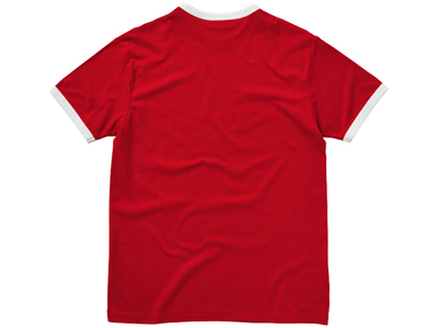 Футболка «Adelaide» мужская, красный/белый ( XL )