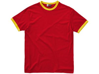 Футболка «Adelaide» мужская, красный/желтый ( XL )