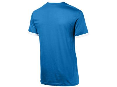 Футболка «Adelaide» мужская, небесно-синий/белый ( XL )
