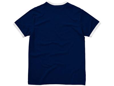 Футболка «Adelaide» мужская, темно-синий/белый ( L )