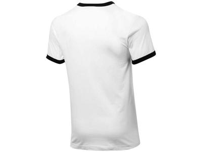 Футболка «Adelaide» мужская, белый/черный ( S )