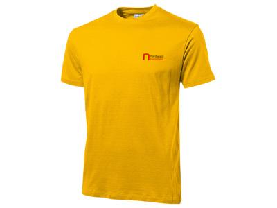 Футболка «Heavy Super Club» мужская, золотисто-желтый ( 2XL )