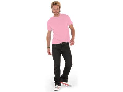 Футболка «Heavy Super Club» мужская, розовый ( L )