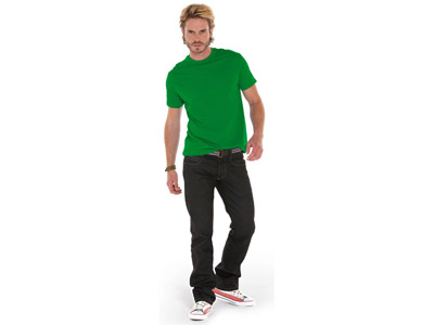 Футболка «Heavy Super Club» мужская, зеленый ( S )