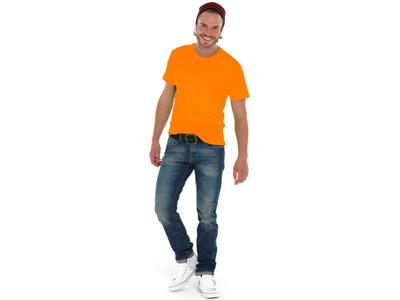 Футболка «Super Heavy Super Club» мужская, оранжевый ( XL )