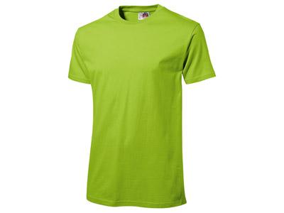 Футболка «Super Heavy Super Club» мужская, зеленое яблоко ( M )