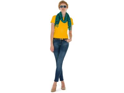 Футболка «Heavy Super Club» женская, золотисто-желтый ( 2XL )