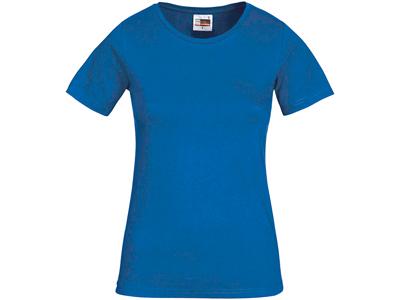 Футболка «Heavy Super Club» женская, небесно-синий ( M )