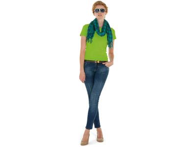 Футболка «Heavy Super Club» женская, зеленое яблоко ( S )