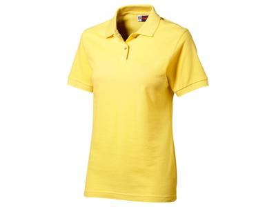 Рубашка поло «Boston» женская, светло-желтый ( XL )