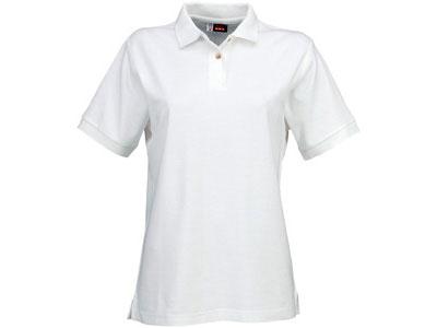 "Рубашка поло ""Boston"" женская, белый ( L )"