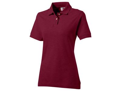 """Рубашка поло """"Boston"""" женская, бургунди ( XL )"""
