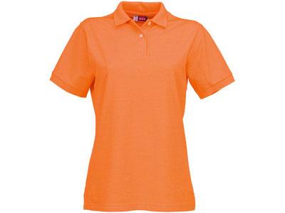 Рубашка поло «Boston» женская, оранжевый ( L )