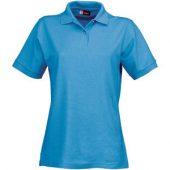 Рубашка поло «Boston» женская, голубой лед ( S )