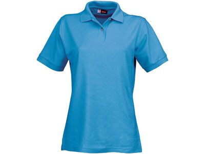 Рубашка поло «Boston» женская, голубой лед ( L )