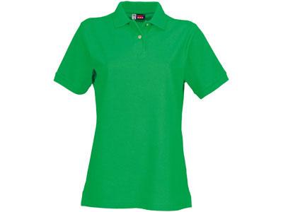 Рубашка поло «Boston» женская, зеленый ( L )