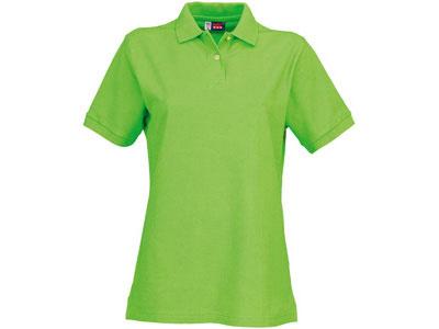 Рубашка поло «Boston» женская, зеленое яблоко ( L )