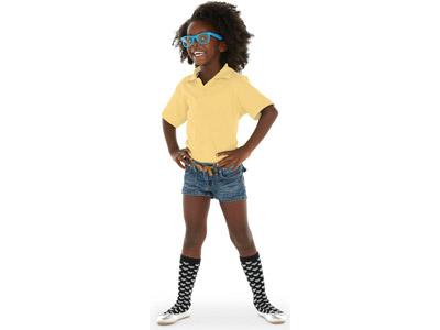 """Рубашка поло """"Boston"""" детская, светло-желтый ( 10 )"""