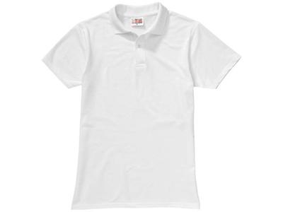 "Рубашка поло ""First"" мужская, белый ( L )"