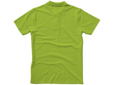 Рубашка поло «First» мужская, зеленое яблоко ( XL )