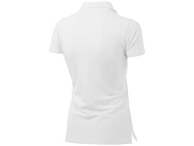 """Рубашка поло """"First"""" женская, белый ( M )"""