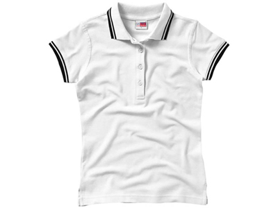 Рубашка поло «Erie» женская, белый ( M )